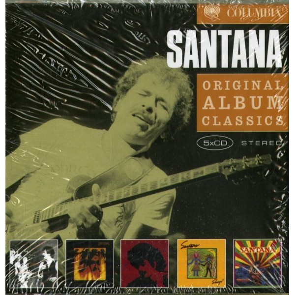 SANTANA CARLOS - Original Album Classics (box5cd)