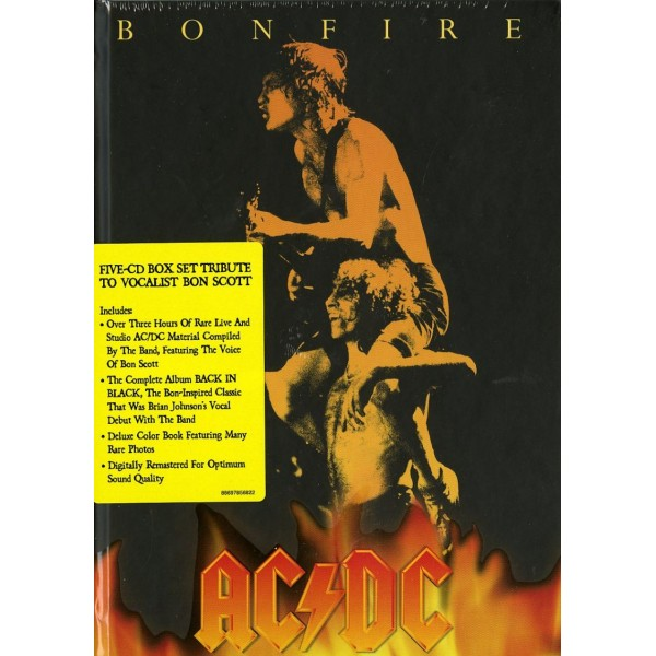 AC/DC - Bonfire (box 5 Cd)