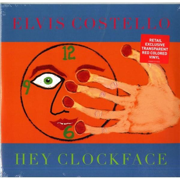 COSTELLO ELVIS - Hey Clockface (vinyl Red Trans