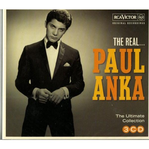 ANKA PAUL - The Real...paul Anka (box3cd)