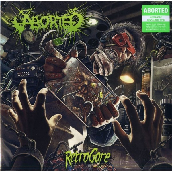 ABORTED - Retrogore (lp+cd+poster)