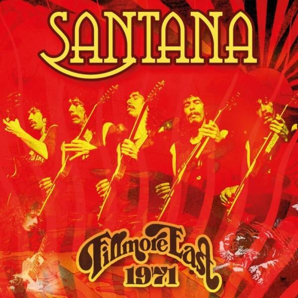 SANTANA - Fillmore East 1971