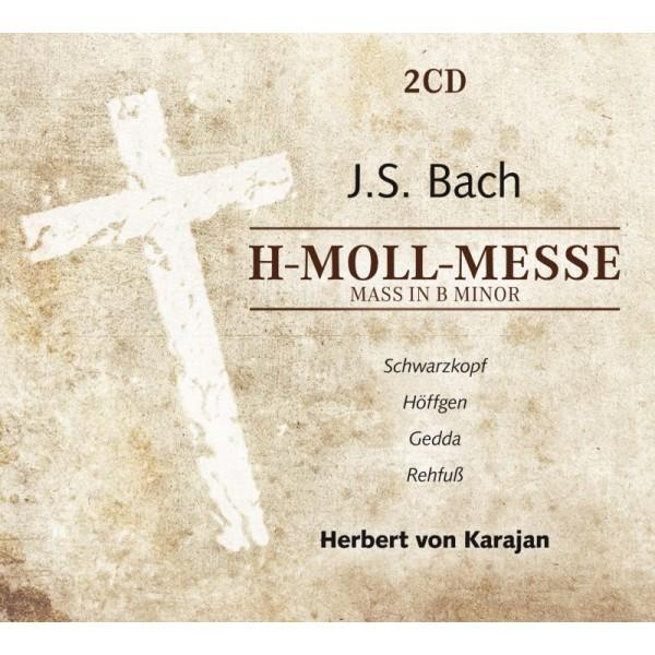 BACH JOHANN SEBASTIAN - Mass In B Minor: Schwarzkopf,gedda/von Karajan