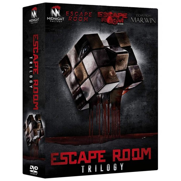 Escape Room Trilogy ( Box 3 Dv)