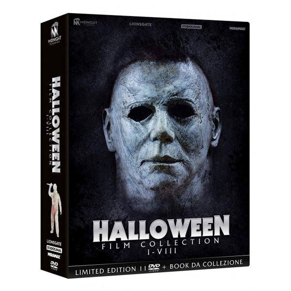 Halloween - Film Collection I-viii - Limited Edition (box 11 Dvd + Booklet)