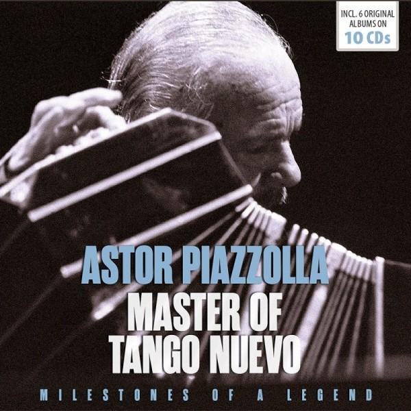 PIAZZOLLA ASTOR - Master Of Tango Nuevo (box 10 Cd)