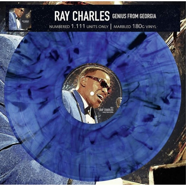 CHARLES RAY - Genius From Georgia (180 Gr. Vinyl Blue Marbled Limited Edt.)