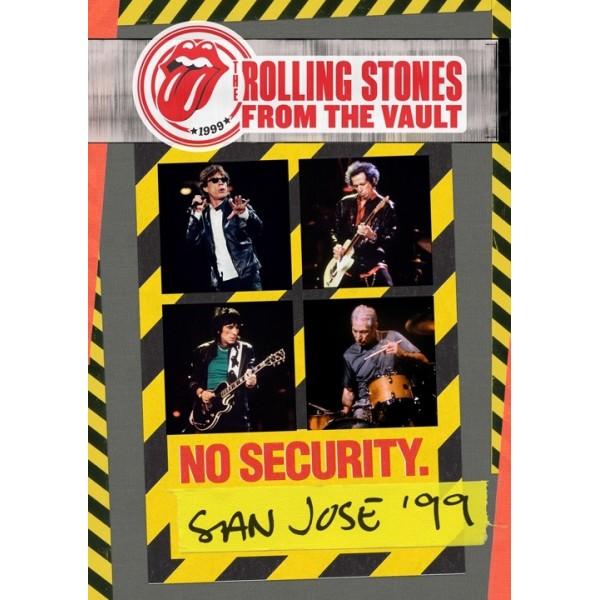 ROLLING STONES - From The Vault No Security San Jose '99