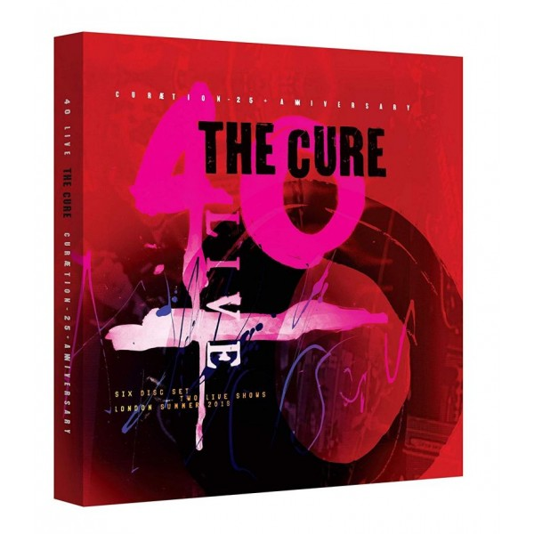 CURE THE - 40 Live Curaetion (box 4 Cd + 2 Dvd + Libro 25