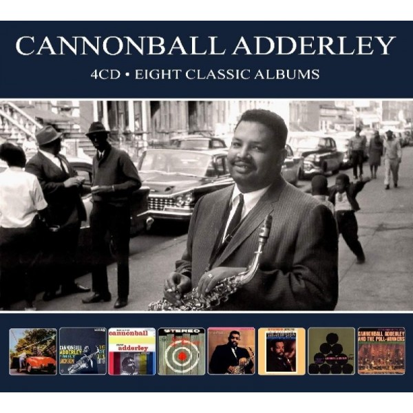 ADDERLEY CANNONBALL - Eight Classic Albums