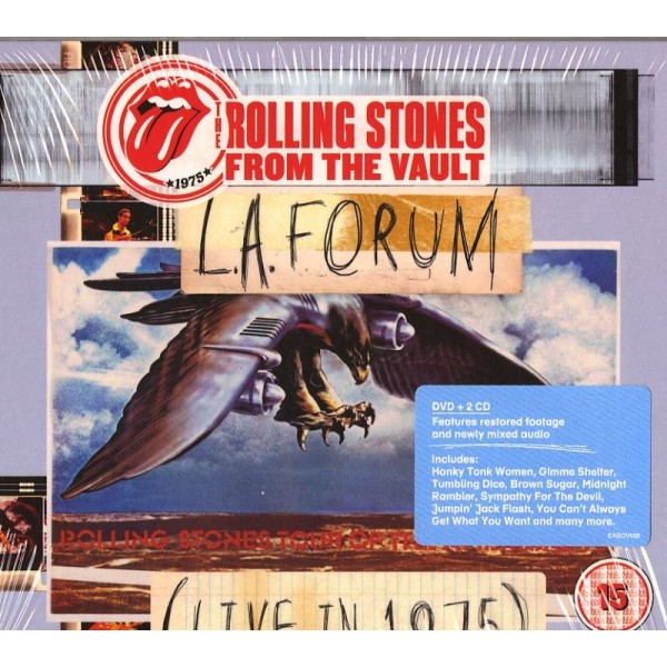 ROLLING STONES - From The Vault L.a. Forum (2cd+dvd)