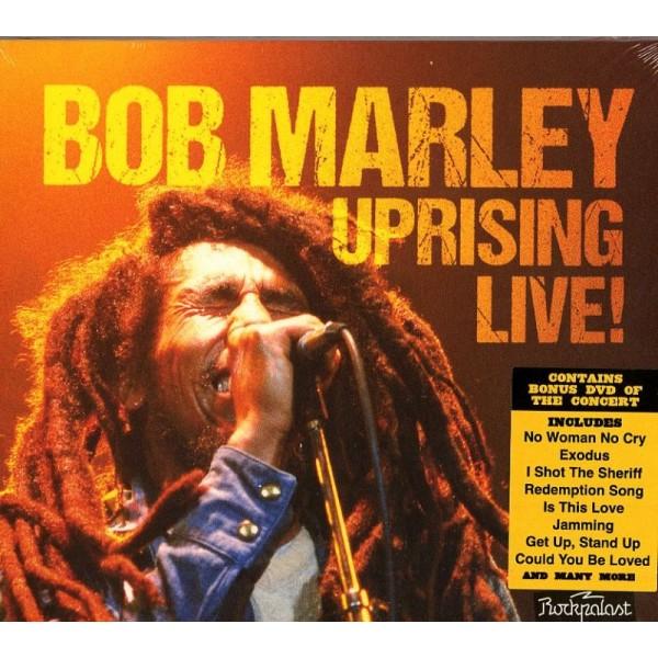 MARLEY BOB - Uprising Live! (cd+dvd)