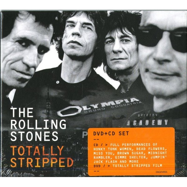 ROLLING STONES THE - Totally Stripped (cd+dvd)