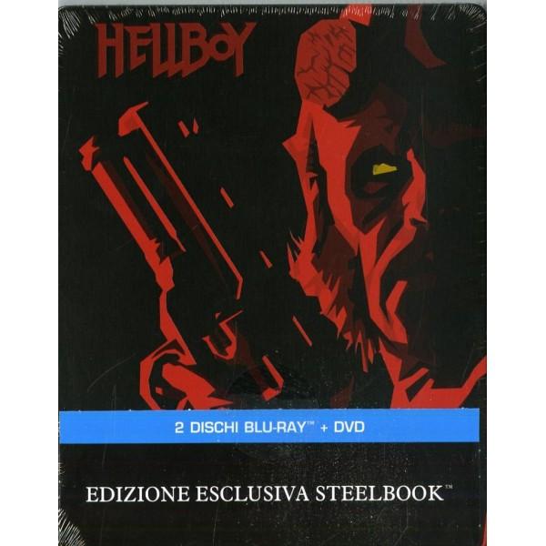 Hellboy (steelbook) (dvd + Br)