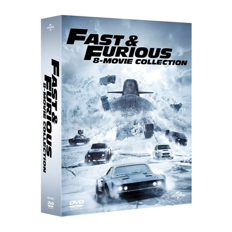 box fast furious 1 8 online vendita online cd dvd lp bluray music store. Black Bedroom Furniture Sets. Home Design Ideas