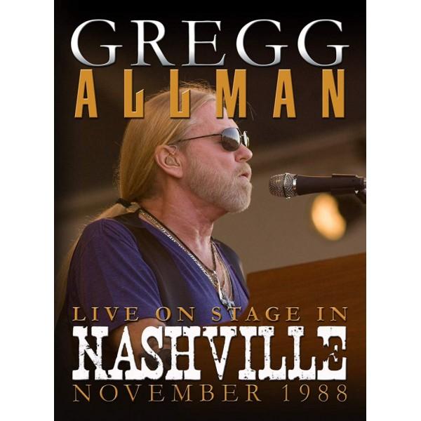 ALLMAN GREGG - Live On Stage In Nashville 1988