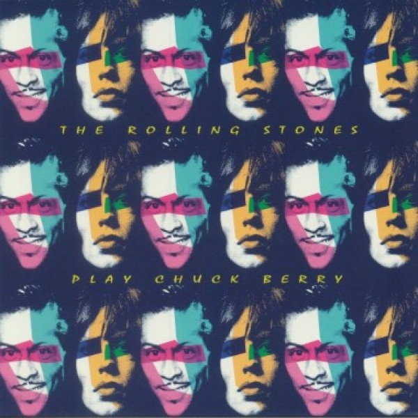ROLLING STONES - Play Chuck Berry (blue Vinyl)