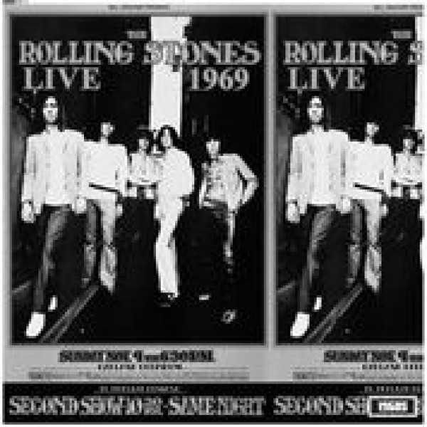 ROLLING STONES THE - Live At The Oakland Coliseum 1969