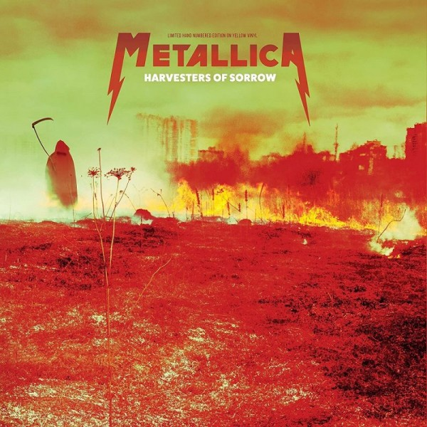 METALLICA - Harvesters Of Sorrow - Live Broadcast Moscow 1991 (vinyl Yellow Limited Edt.)