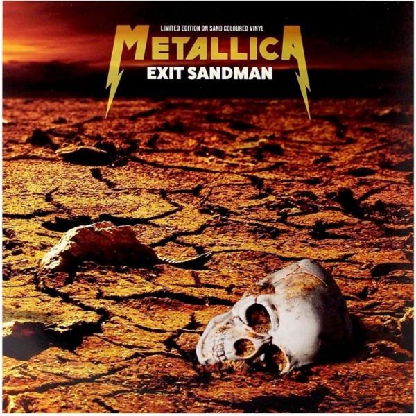 METALLICA - Exit Sandman Legendary Live Broadcasts (vinyl Sand Coloured Limited Edt.))