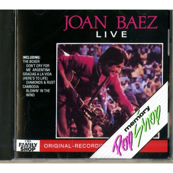 BAEZ JOAN - Live