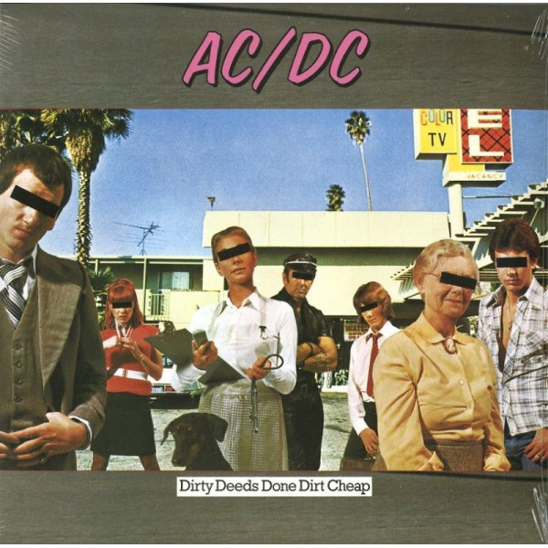 AC/DC - Dirty Deeds Done Dirt Cheep