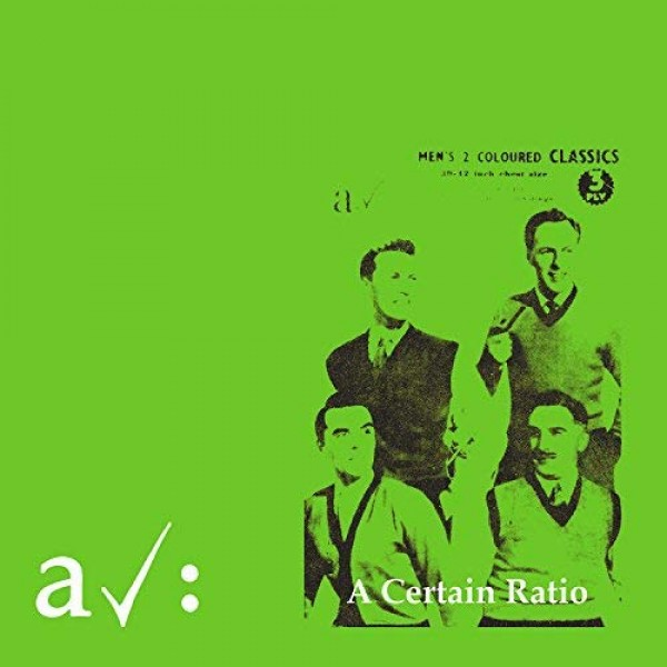 A CERTAIN RATIO - The Graveyard And (orange)