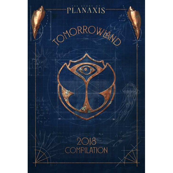 COMPILATION - Tomorrowland 2018 Discover The Magic Of The Story Of Planaxis (3 Cd+booklet)