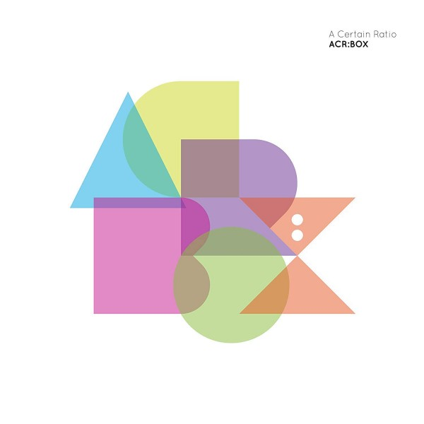 A CERTAIN RATIO - Acr: (box 4 Cd)