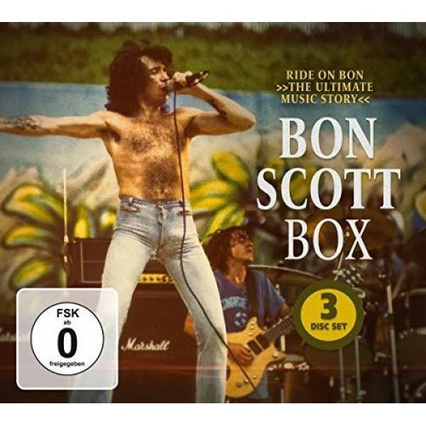 SCOTT BON - Bon Scott Box (2cd+dvd)