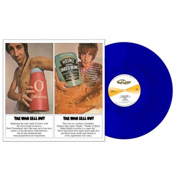 WHO THE - The Who Sell Out(spec.ed.clear Blue Vynil)