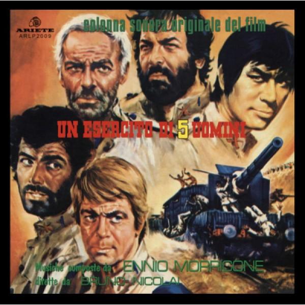 MORRICONE ENNIO - Un Esercito Di 5 Uomini (limited Edt.blue Vinyl) (rsd18)