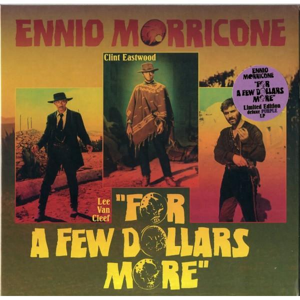 O. S. T. -PER QUALCHE DOLLARO IN PIU'( MORRCONE ENNIO) - Per Qualche Dollaro In Piu' (vinyl 10'' Purple)