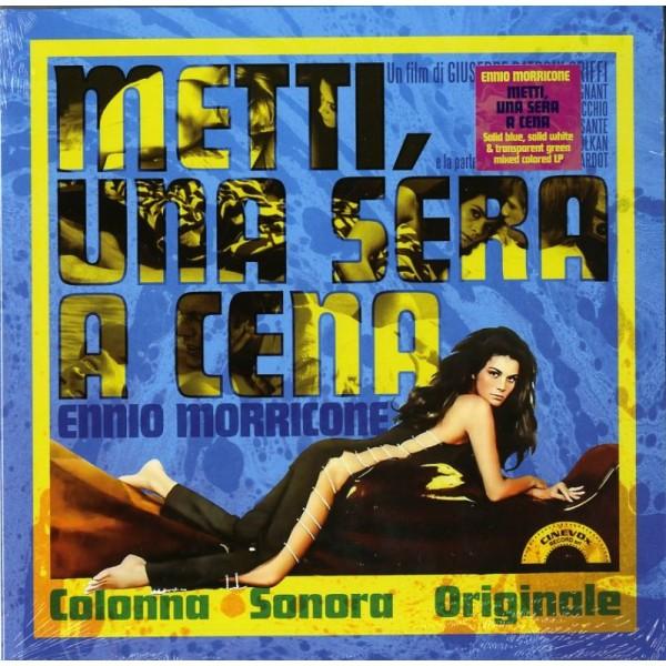 O. S. T. -METTI UNA SERA A CENA( MORRICONE ENNIO) - Metti Una Sera A Cena (blue White & Transparent Green Mixed)