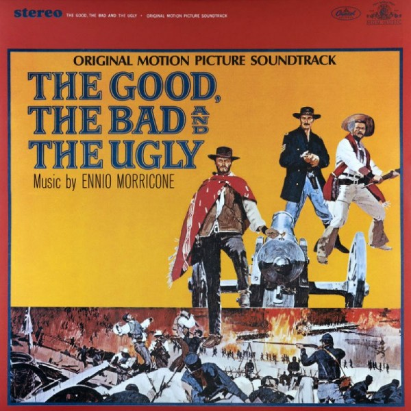 MORRICONE ENNIO - The Good,the Bad And The Ugly (180 Gr. Vinyl Red + Poster Limit.)(rsd 2020 Indie