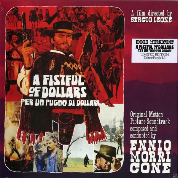 O. S. T. -PER UN PUGNO DI DOLLARI( MORRICONE ENNIO) - Per Un Pugno Di Dollari (vinyl Gold Bare 10'')
