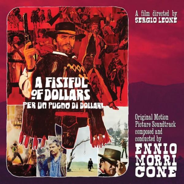 MORRICONE ENNIO - A Fistful Of Dollars (180 Gr. 10'' Vinyl Red Gatefold + Poster)(rsd 2020 Indie)