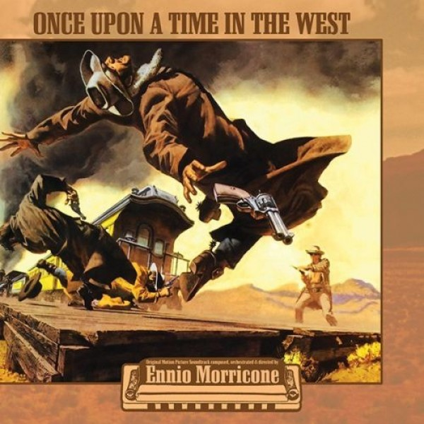 MORRICONE ENNIO - Once Upon A Time In The West (180 Gr. Vinyl Yellow Gatefold) (rsd 2020 Indie)