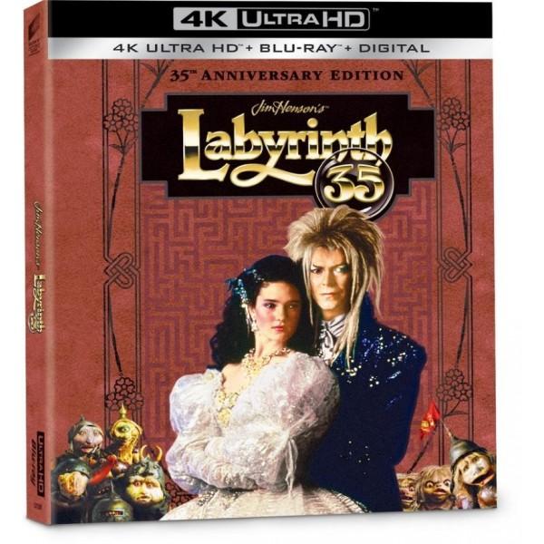 Labyrinth - Dove Tutto E' Possibile Anniversary Ed. (4k+br)