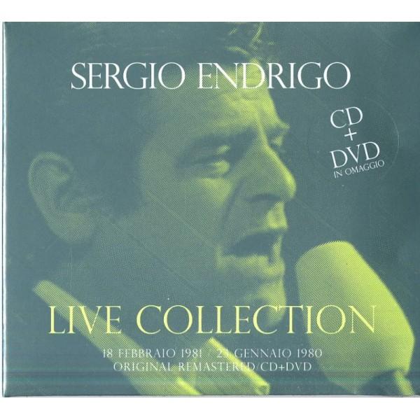 ENDRIGO SERGIO - Live Collection 18 Febbraio 1981, 23 Gennaio 1980 (cd+dvd Digipack)