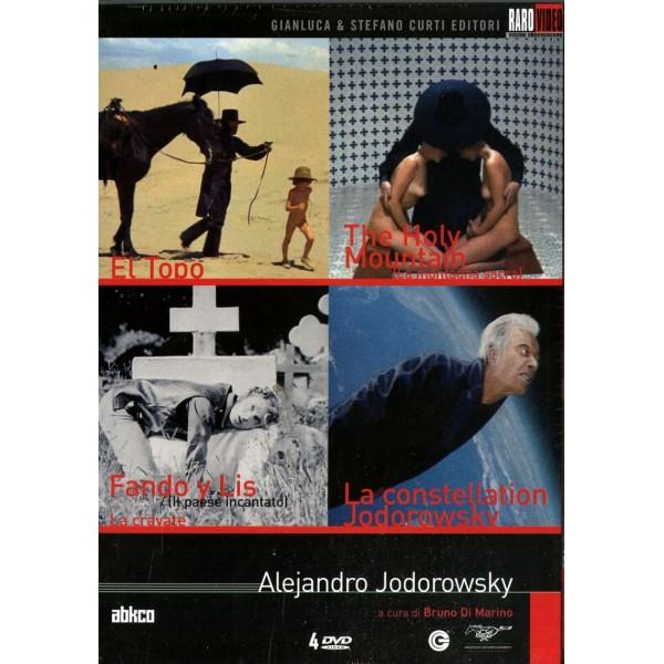 Alejandro Jodorowsky (box 4 Dvd)