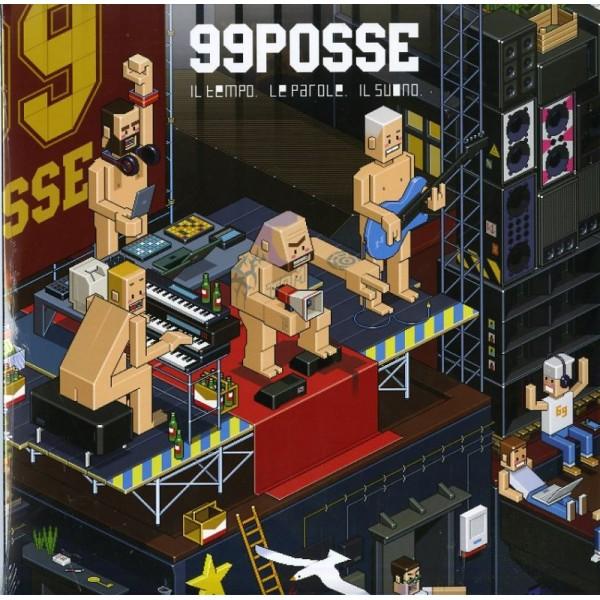 99 POSSE - Il Tempo,le Parole,il Suono (180 Gr.)