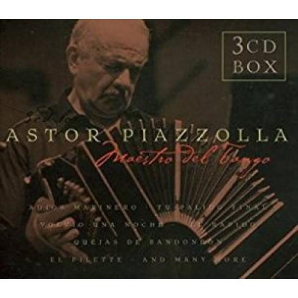 PIAZZOLLA ASTOR - Maestro Del Tango =box=