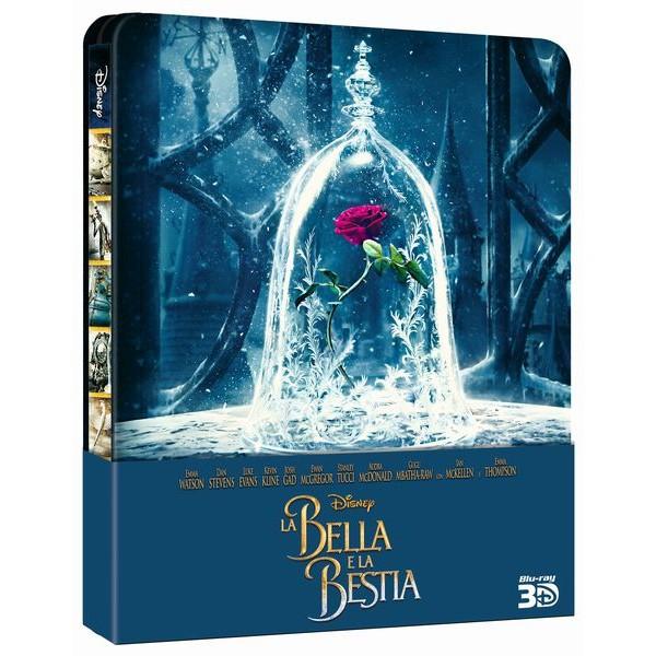 La Bella E La Bestia (2017) 3d Steelbook