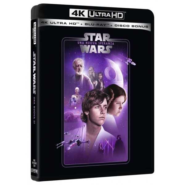 Star Wars Ep. Iv Una Nuova Speranza (repkg 4k+br+bonus Disc)