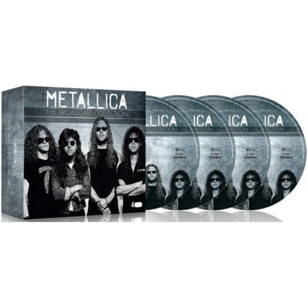 METALLICA - Broadcast Collection 1988 - 1994 - 4cd