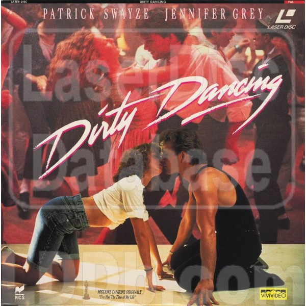 Dirty Dancing Laserdisc (f.c.)