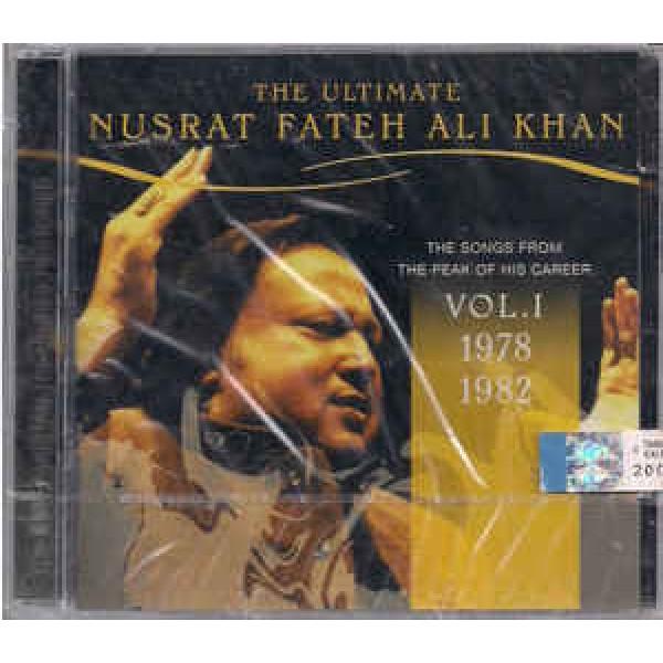 Nusrat Fateh Ali Khan - The Ultimate Nusrat Fateh Ali Khan Vol. I: The Songs From The Peak Of His Career 1978-1982
